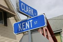 Superman Corner, Clark & Kent Sts, Click image to learn more