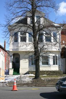 591 Fillmore Avenue: built in 1890, Home of Frank Burzynski.
