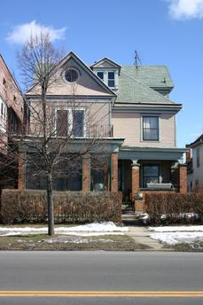 615 Fillmore Avenue: Built in 1910; designed by Wladyslaw Zawadzki. Built as the home of real estate agent Stanislaus Nowicki.