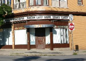 Today: Parkside Candies, Main Street, Buffalo as it looked in 2007. Forgotten Buffalo considers this location one of Buffalo's �Most Endangered Sites.�