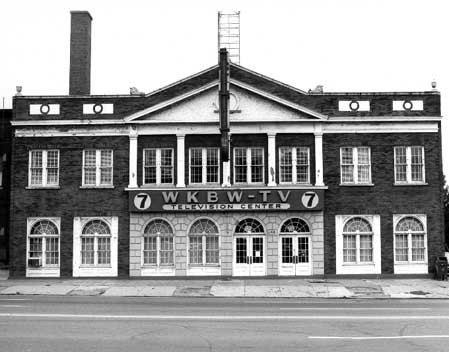 Once the home of the Churchill Tabernacle, 1420 Main Street became the home to WKBW-TV in 1958