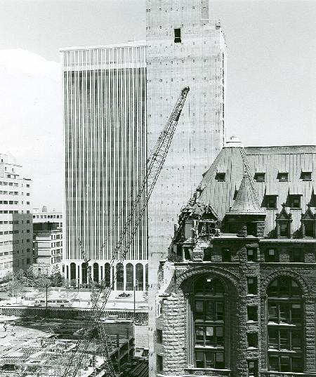 Completion (M&T), Progression (Main Place), Demolition (Erie County Savings Bank) 7.13.67