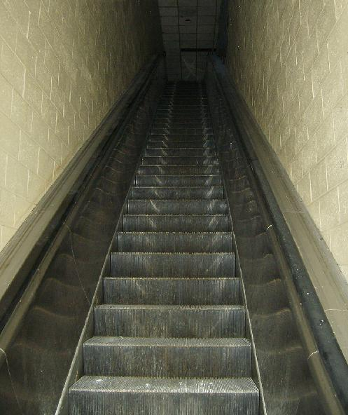 Escalator to the �orange� level