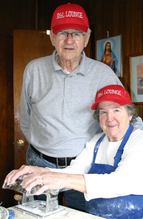 Ron & Lottie, April 21, 2011