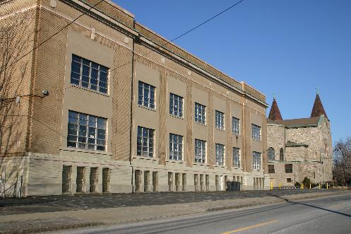 Holy Family School, Tifft Street, South Buffalo, New York