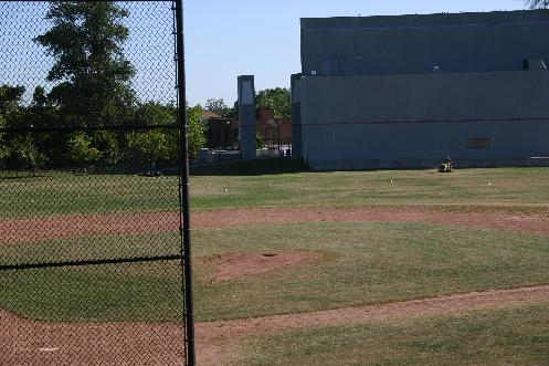 Rob Hobb's Field of Dreams 2007. Youth diamond at the site of War Memorial Stadium