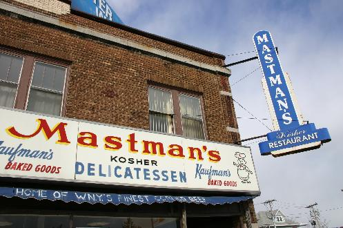 Shapiro bought the deli from the Mastman family in 1980. Located at the corner of Colvin and Hertel Avenues, Mastman's was a popular eating and gathering spot for generations.