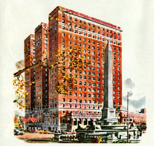 The Statler Hilton Hotel Buffalo New York Usa