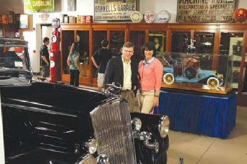 Spolka�s antique wood and glass cabinetry survives as part of the displays at the Buffalo Transportation Museum. Founder James Sandoro purchased the store�s fixtures after it closed its doors.