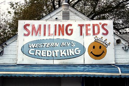 Forgotten Buffalo Featuring Smiling Ted S