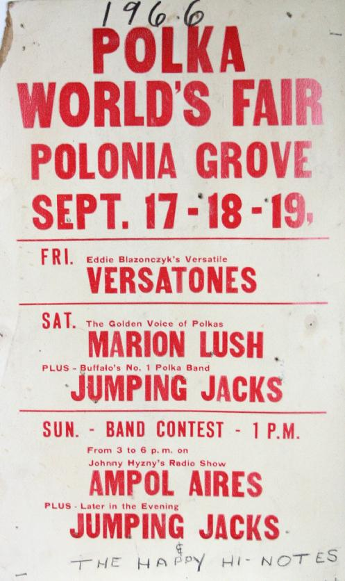 1966, Polka World's Fair, Polonia Grove, Chicago
